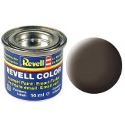 LEATHER BROWN, MAT 14 ML - REVELL (32184)