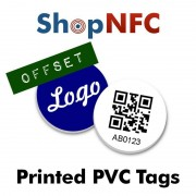Tag NFC in PVC personalizzati - Stampa Offset
