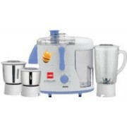 Cello JMG-200 500-Watt Juicer Mixer Grinder with 3 Jars (Blue and White) 500 Juicer Mixer Grinder(Blue, 3 Jars)