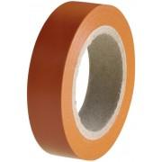 Bandă izolatoare HELATAPE FLEX 15, 15mm x 10m, orange
