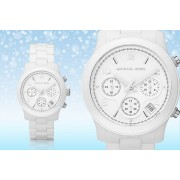 Michael Kors Ladies' Cerematic Chronograph MK5161 Watch