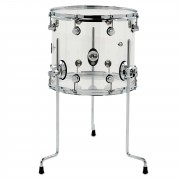 "Drum Workshop Design Acryl FloorTom 18""x16"", Clear"