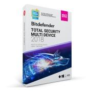 Bitdefender Total Security Multi-Device 10-Devices 1jaar