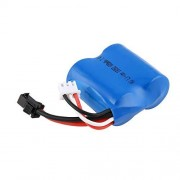 KMtar5MX 7.4V 600mAh Balance Plugs Rechargeable Li-Ion Battery with USB Charger for RC Boat Skytech H100 H102 H106 Syma Q2 Q3