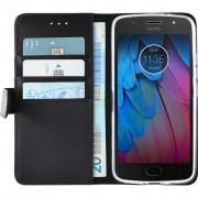 Azuri Wallet Magneet Motorola Moto G5S Book Case Zwart