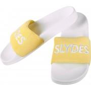 Slydes Plya Herren Badeschuhe weiß gelb Gr. 42,0
