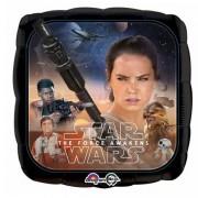 Star Wars, Az ébredő erő, fólia lufi 45 cm