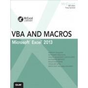 Excel 2013 VBA and Macros, Paperback
