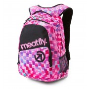 batoh MEATFLY - Exile - F Cross Pink/Black - MEAT113
