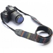 American Sia Camera Neck Shoulder Belt Strap By House of Quirk for All DSLR Camera