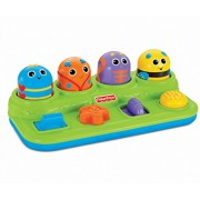 Fisher-Price Brilliant Basics Boppin' Activity Bugs [Colors May Vary]