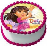 Dora Utforskaren Tårtbild A