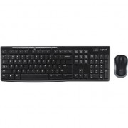 Kit Logitech Wireless Desktop MK270, USB 2.0, Negru