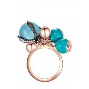 Pinto Saint Tropez Ring, Swarovski® crystals gold
