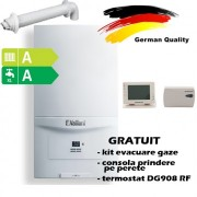 Pachet centrala termica in condensatie VAILLANT ecoTEC pure VUW 236/7-2, 20,2 kW - Incalzire + A.C.M. + termostat Wireless