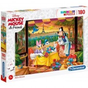 Puzzle Clementoni SuperColor: Disney Mickiy Mouse and Friends, 180 piese