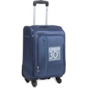 VIP Tuscany Ii Expandable Cabin Luggage - 18 inch(Blue)