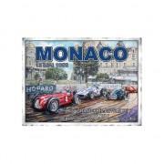 Geen Wandplaat Formule 1 Grand Prix Monaco