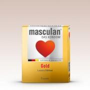 Masculan Gold arany színű, vanília illatú üvszer (3 db)