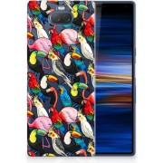 Sony Xperia 10 Plus Uniek TPU Hoesje Birds
