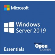 OS, Microsoft® Windows Server Essentials 2019, 64Bit, Eng, DSP, 1-2CPU (G3S-01299)