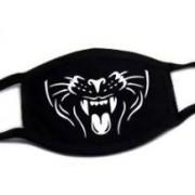 Farebné rúško z bavlny na tvár - Tiger