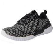 Sparx Men's White Black Mesh Sports Running Shoes