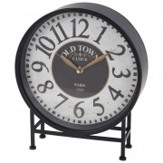 Zegar na biurko komodę stół RETRO LOFT metalowy