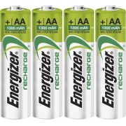Set 4 acumulatori NiMH, AA, 1,2 V, 1300 mAh, Energizer Universal