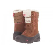 The North Face Shellista Lace II (ToddlerLittle KidBig Kid) Dachshund BrownCabaret Pink