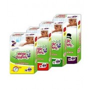 Pañales Desechables Magic Daypers 4-8kg Economicos 160 pz