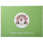 Indrani Spa Facial Kit 600g for Glowing Skin (Pack Cleanser Facial Pack Massage Cream Scrub Skin Polishner Skin Freshener) Oily Skin Dry Skin All Skin Types
