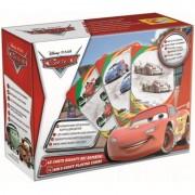 Carti de joc 40 cartonase 10 jocuri Cars Lisciani