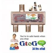 UHF Plug To N Female Socket Adaptor's Plugs