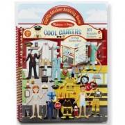 Детска книжка със стикери - Професии, 19426 Melissa and Doug, 000772194266