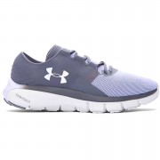 Under Armour Women's SpeedForm Fortis 2.1 Running Shoes - Rhino Grey/Lavender Ice - US 8.5/UK 6 - Rhino Grey/Lavender Ice