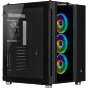 Carcasa Corsair Crystal Series 680X RGB ATX High Airflow Tempered Glass Negru
