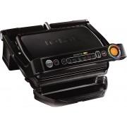 Grătar electric TEFAL OptiGrill+ GC712812, 2000 W, 6 programe, Senzor automat de gatire, Indicator gatire, Negru