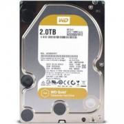 Вътрешен диск HDD 2TB SATAIII WD Gold, 7200rpm, 128MB, 5 години гаранция, WD2005FBYZ
