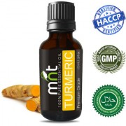 MNT Turmeric Essential Oil (15Ml) 100% Pure Natural & Undiluted Therapeutic Grade for Skin Relaxation & Massage