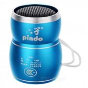 Mini altavoz de PINDO M5 ninos w Ranura para tarjeta / TF - Azul