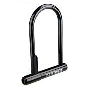 Kryptonite Keeper 12 Standard Bicycle U-Lock with Bracket Bicycle U-Lock (4-inch X 8-inch)