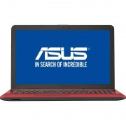 Laptop Asus VivoBook Max X541NA-GO009 15.6 inch HD Intel Core N3350 4GB DDR3 500GB HDD Red