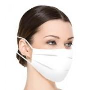 300 masques protecteurs réutilisables en tissu blanc