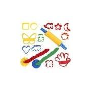 Merkloos Klei gereedschap set voor kinderen