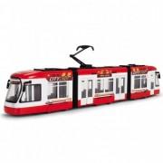 Tramvai Joaca Dickie Toys City Liner - Red