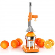 ONECONCEPT ECOJUICER еко сокоизтисквачка с лост оранжев (OJ1-ECOJUICER ORANGE)