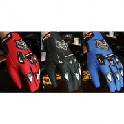 KnightHood Riding Gloves Assorted Colors Black