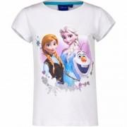 Disney Wit t-shirt Frozen voor meisjes