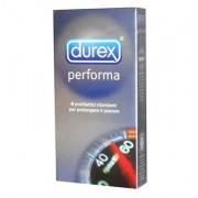 Durex Linea Performa Ritardante Forma Classica Confezione Con 4 Profilattici